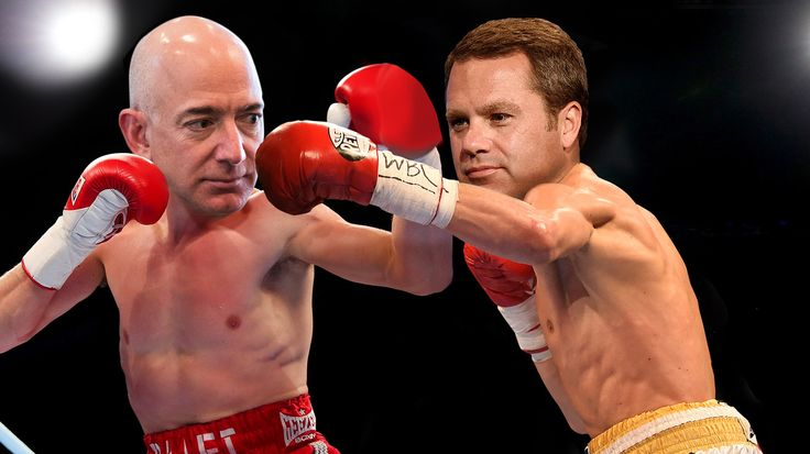 MarketWatch photo illustration/Getty Images                                               Amazon's Jeff Bezos and Wal-Mart's Doug McMillon are squaring off online The e-commerce competition between Wal-Mart Stores Inc. and Amazon.com Inc. is heating up, and Wal-Mart... - #Amazon, #Compe, #Ecommerce, #Finance, #Headtohead, #Walmart