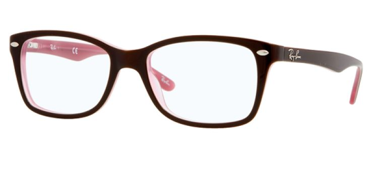 Ray Ban Glasses RX5228 2126 50 is designed for women and the frame is tortoise. This style has a small - 50mm lens diameter. The bridge size for this model is 17mm land the side length is standard. This adult designer prescription glasses model is a plastic, rectangle shape. The full rimmed frame with a Ray Ban rx5228 2126 50 eyeglasses comes with free single vision lenses, scratch resistant coating, tint (if required), hard case & cloth, minimum 12 month warranty and authenticity…
