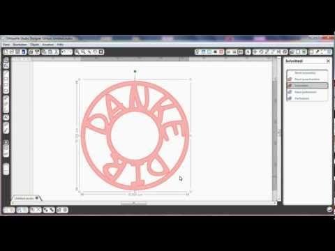 Video Wie man Worte um einen Kreis bilden kann für Cameo Stampika Blog