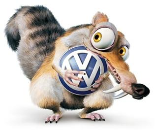 Scrat loves VW