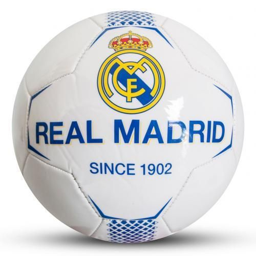 Real Madrid FC Official Crested Football Size 5 Soccer Ball Full Size 26 Panel  | eBay