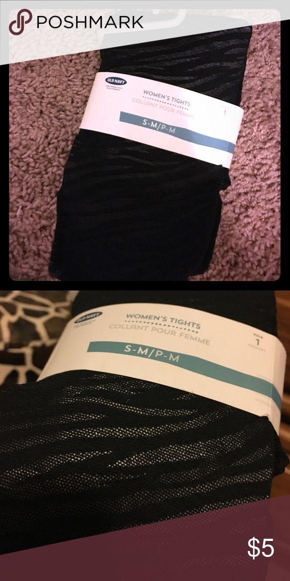 Old navy tights Zebra print. Never been opened. Old Navy Intimates & Sleepwear Shapewear