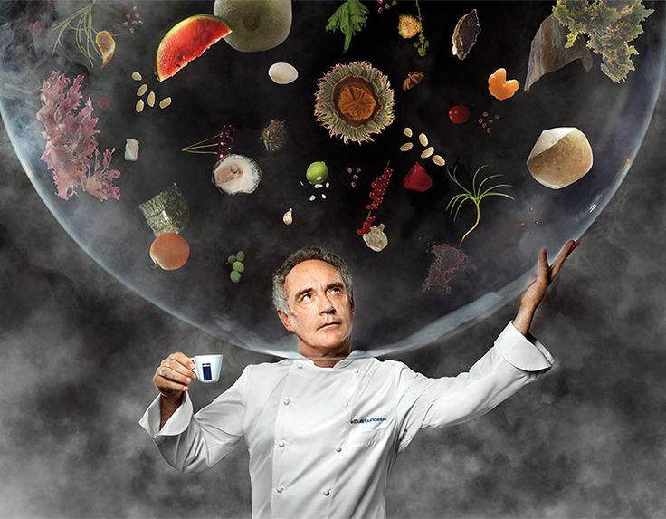 """#Lavazza 2014 calendar: Ferran Adrià """"Visions"""" Cover"""