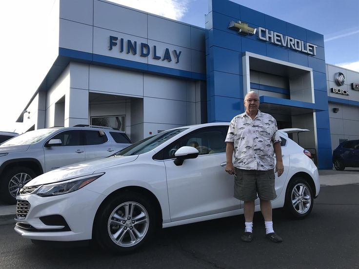 """STANLEY, wishing you many """"Miles of Smiles"""" in your 2018 CHEVROLET CRUZE!  All the best, Findlay Chevy Buick GMC and Matthew Miranda."""