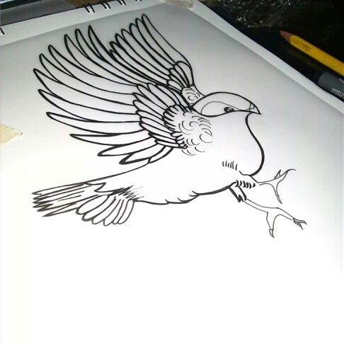 #swalow #tattoodesign #tattoo #tat #pinterestink #ximenabohorquez #getink
