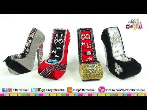 ❥DIY - Mobile Holder High Heel / Zapato Porta-Celular - YouTube