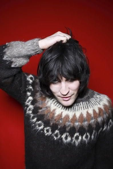 Noel Fielding always playing with his hair <<<--- I'm not complaining ;D
