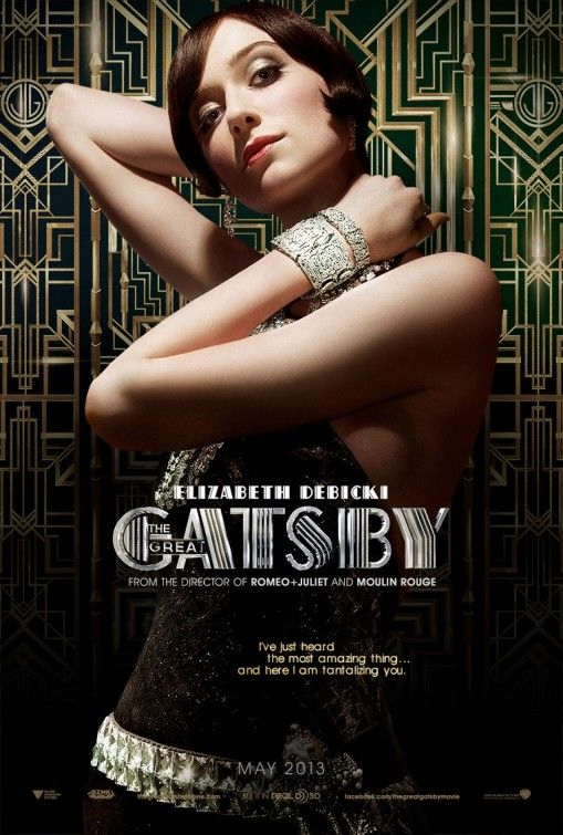 Elizabeth Debicki is Jordan Baker in The Great Gatsby Summer 2013