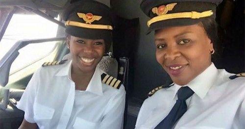 Zimbabwe's First All-Female Pilot Crew