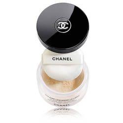 Poudre universelle libre Chanel, matifiante, transparente, parfaite pour la zone T.