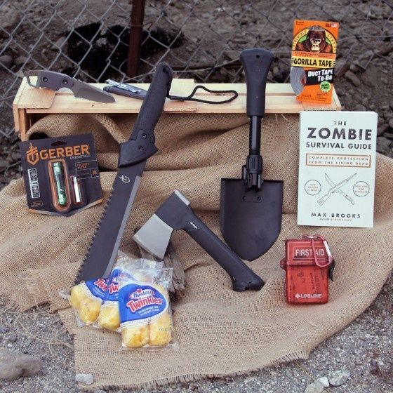 Lol, Man Crates (gift baskets for men) This is the Zombie Annihilation Crate #Christmas #thanksgiving #Holiday #quote