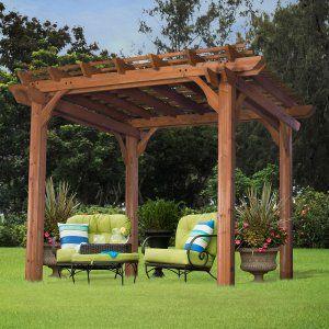 Backyard Discovery Cedar Pergola - Pergolas at Hayneedle