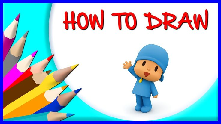How to Draw Pocoyo | Drawing Time Lapse | 853672 HTD