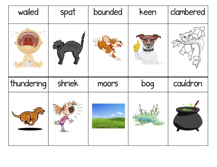 Vocabulary Activity & Other Ideas for Book, Room on the Broom by Julia Donaldson (from Kindergarten Nana)