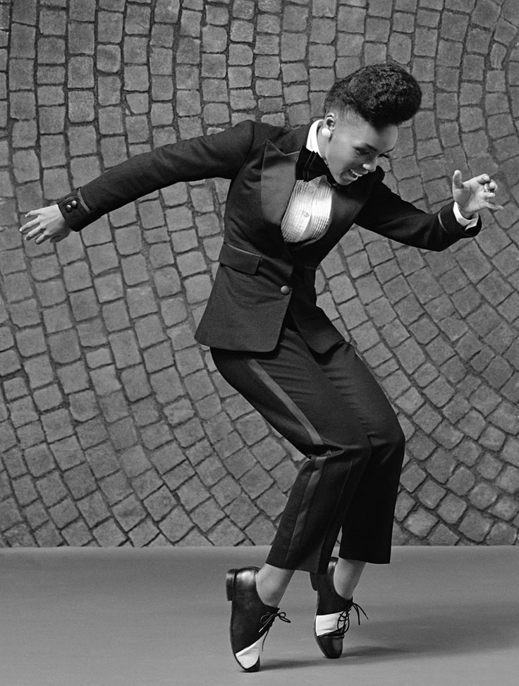 Greatest sporter of the Pompadour since Elvis. Most of us were too young to appreciate a good hairdo -- Janelle Monae