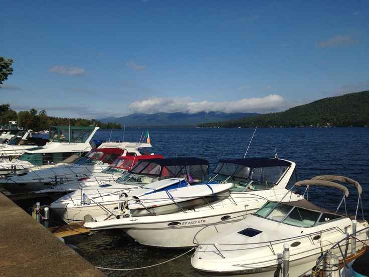 Marina on Lake George