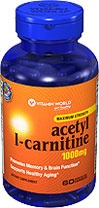Acetyl L-Carnitine, 60 Capsules  Vitamin World > Shop By Categories > Acetyl L Carnitine     Write the first review    Item #013796    Your Price* $39.99   20% OFF Regular Price   Regularly: $49.99
