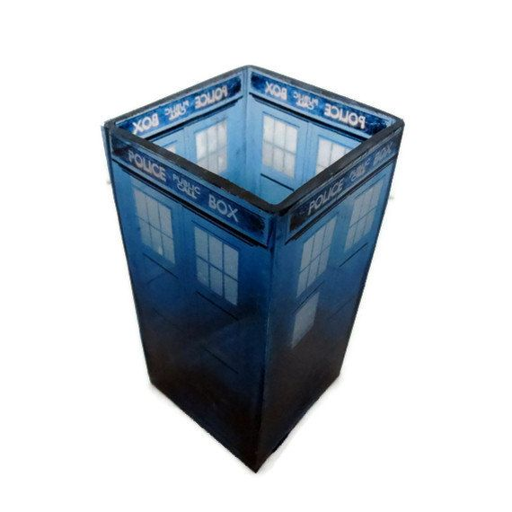 Doctor Who Tardis Candle Holder Geeky Home Decor Home
