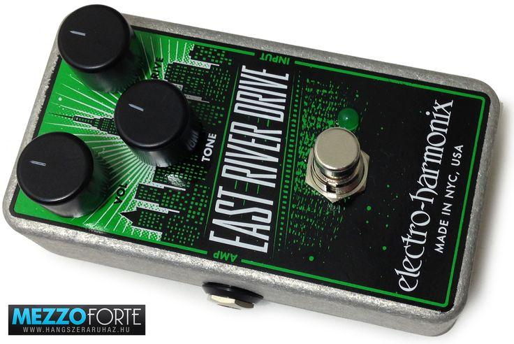 Electro-Harmonix East River torzító/overdrive gitárpedál