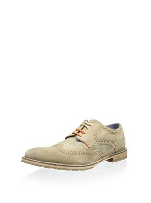 55% OFF Ben Sherman Men's Bergen Brogue Oxford (Sand)