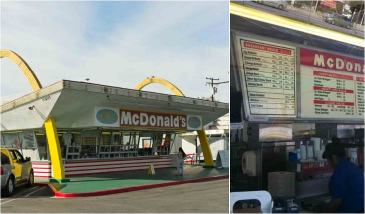The oldest operating McDonald's restaurant is a drive-up hamburger stand at 10207 Lakewood Boulevard at Florence Avenue in Downey, California.