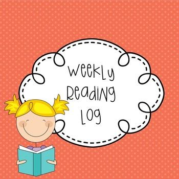 A weekly reading log for students to use to track how many times they are reading per week.