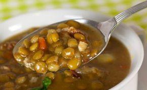 sopa de lentejas mexicana | Sopa de lentejas | Recetas Mexicanas