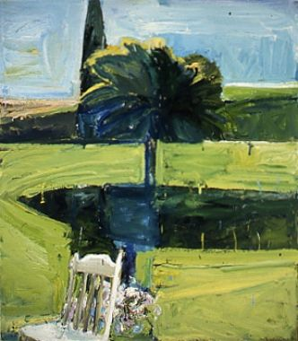 Paul Wonner, chair, 1960, 54X48""