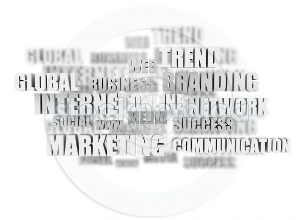 Marketing Words Cloud for commercial use. http://www.stocknordica.com/image/marketing-words-cloud/