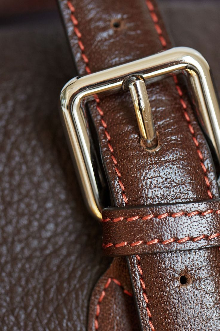 Tusk Men's Weekend Leather Duffel.