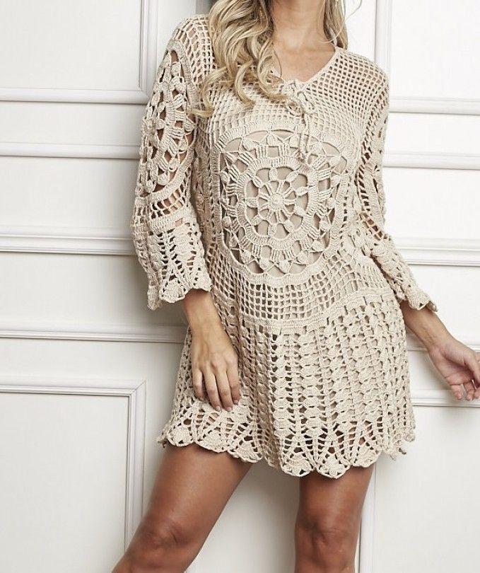 Crochet dress - Free Pattern | Yarn Crochet Patterns Free