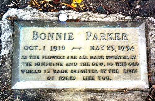 Bonnie Elizabeth Parker (1910 - 1934) - Find A Grave ...