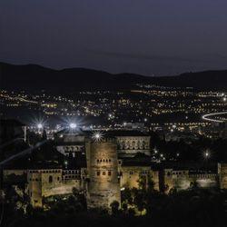 La Alhambra duerme a Granada de Pablo Viedma