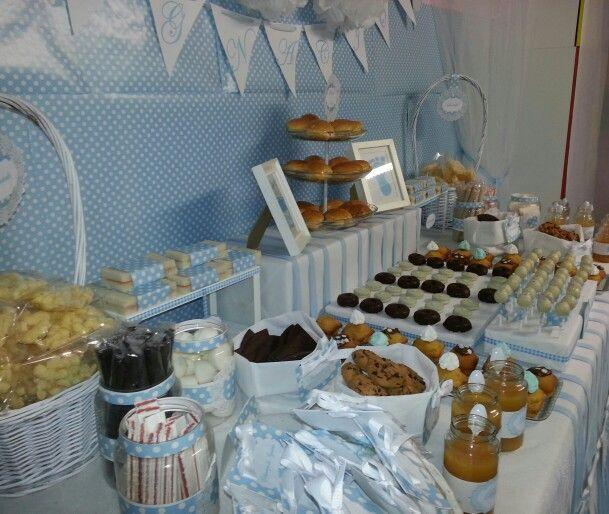 Dise o y decoraci n de eventos sevilla mesa merienda for Decoracion para mesa dulce