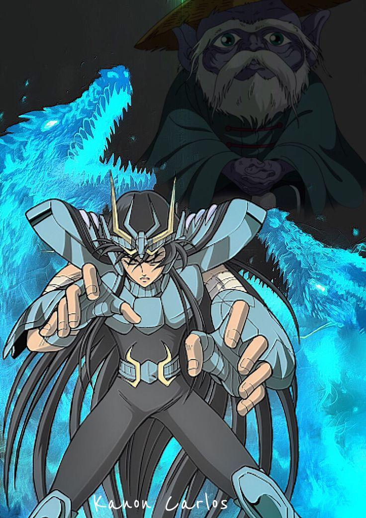 Caballero del dragón  Saint Seiya