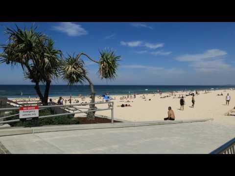 Surfers Paradise Beach video taken with a Canon 5D Mark IV