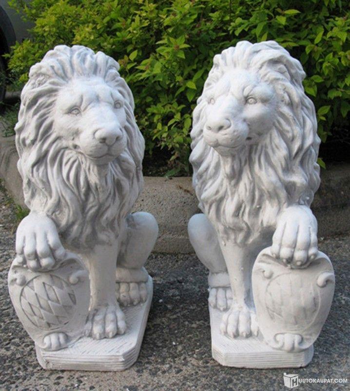 Leijonapatsaat 2 kpl, betonia 200€