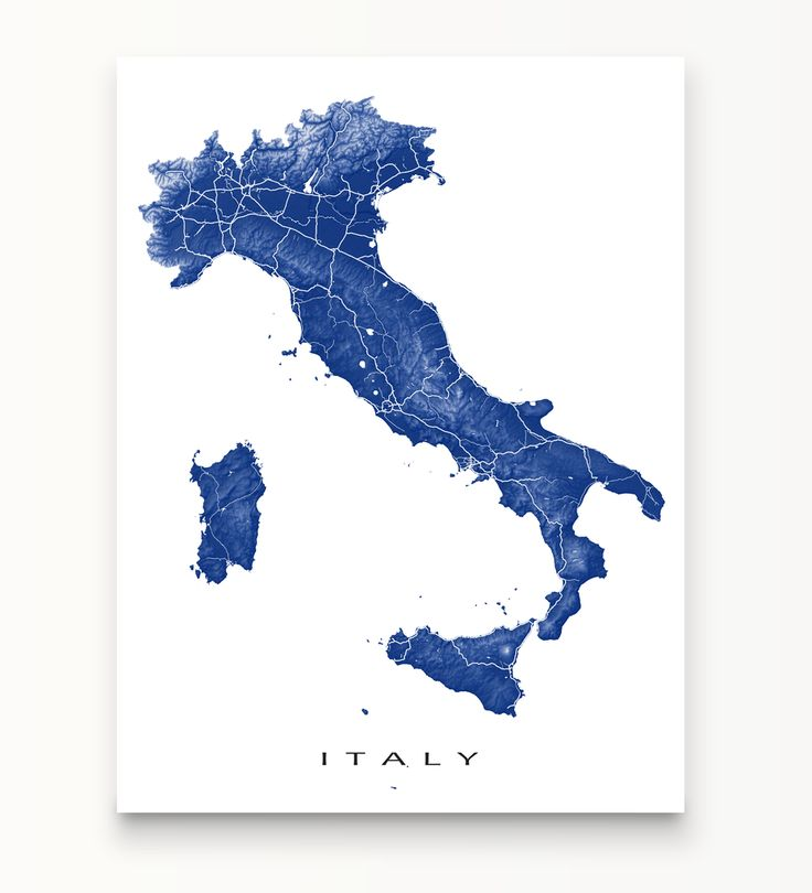 17 best maps of countries images on pinterest map art cards and italy map print colors publicscrutiny Images