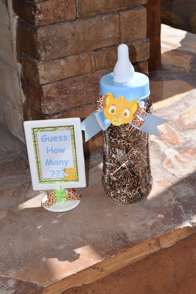 Baby Lion King Baby Shower Party Ideas