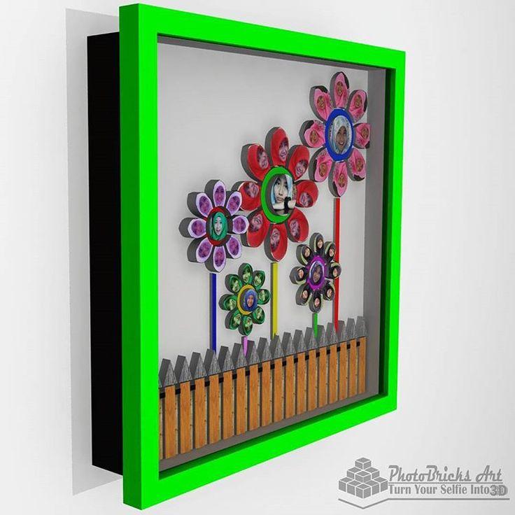 3D Flower CheerFlower model (side view). Size 30x30 cm. Wanna purchase? Check our bio for more info. #interior #walldecor #decoration #interiordesign #creativeindustry #craft #art #gift #creative #creativeart #desainunik #desainkreatif...