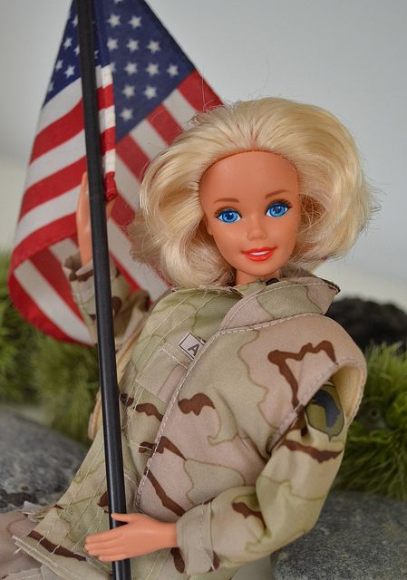 ARMY Barbie | Flickr - Photo Sharing!