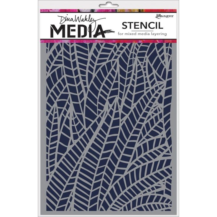 Dina Wakley - Stencil - Jungle