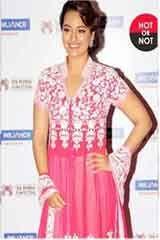 Indian Traditional Pink Satin Anarkali Dresses, Dress