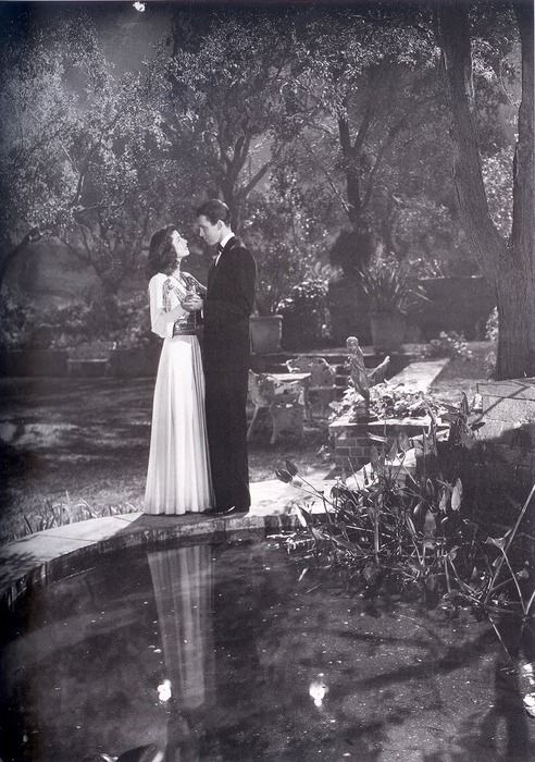 the philadelphia story - this scene, like from a dream, so beautiful