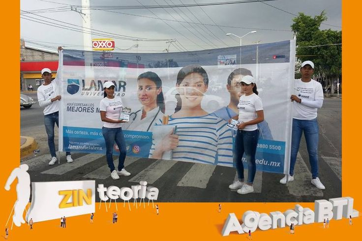 #Volanteo para Lamar Universidad 📖   #StreetMarketing  #BelowTheLine