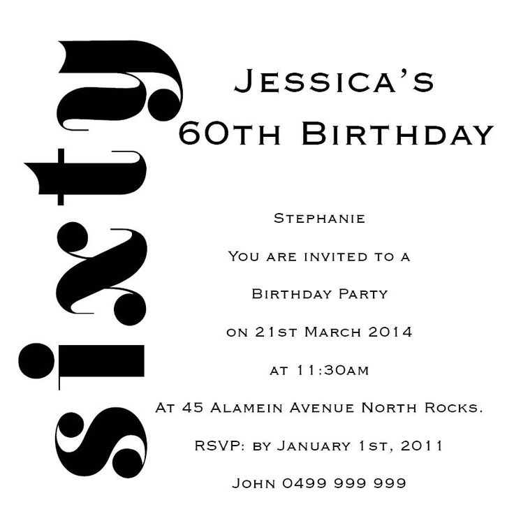 17 best Senior Birthday Invitations images on Pinterest Special