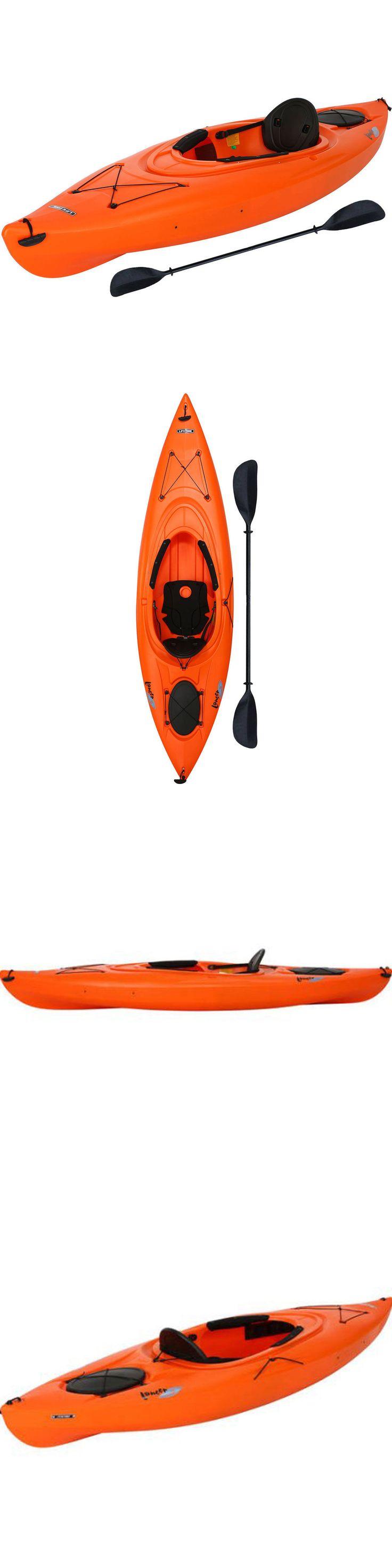 Kayaks 36122: Lifetime Lancer 10 Sit In Kayak And Paddle Orange Camping Fishing Water Excursion -> BUY IT NOW ONLY: $273.99 on eBay!