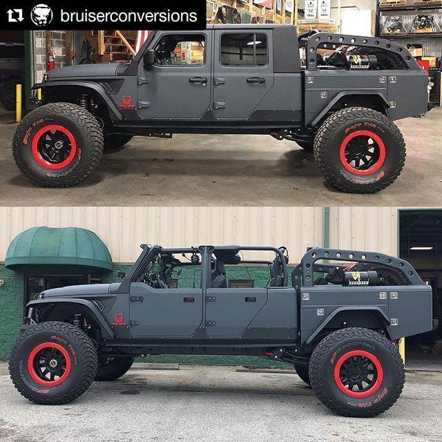Bruiserconversions Gorgeous Jl Build Includes Our Aluminum Half