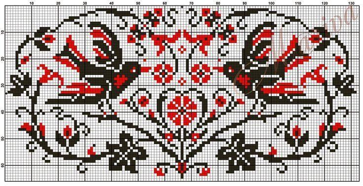 Gallery.ru / Фото #268 - Птицы (схемы) 3 - Olgakam