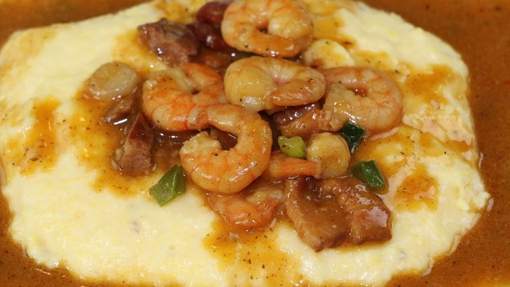 Cajun Shrimp and Grits Recipe - How to Make The BEST Shrimp and Grits - YouTube